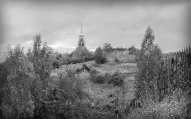 Торжок, Кремль, монокль, панорама Вид на Торжский Кремль...photo preview