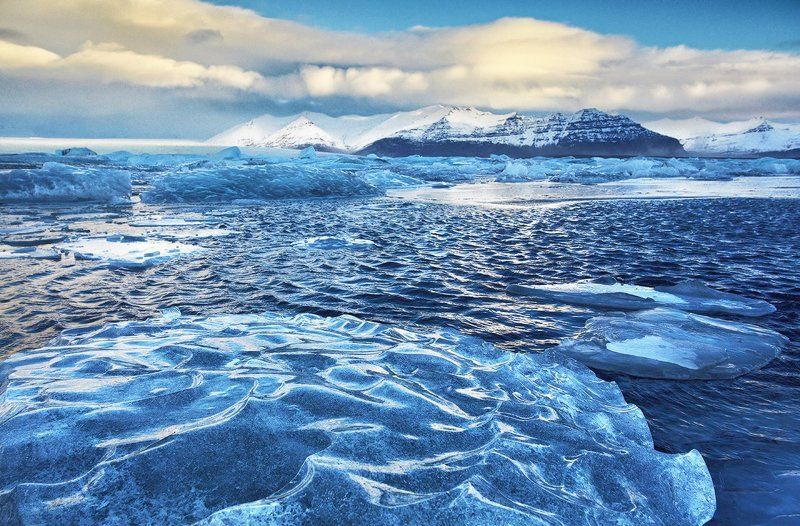 Исландия Jokulsarlon Йёкюльсаурлоун ледяная лагуна ледник Исландия. Йёкюльсаурлоун (Jokulsarlon).photo preview