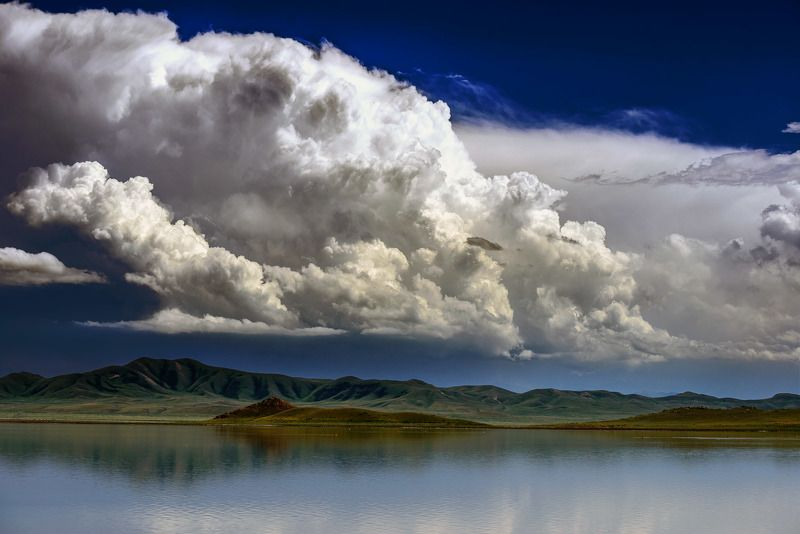 Казахстан, природа, пейзаж Текес - Тузколь - Кетменьphoto preview