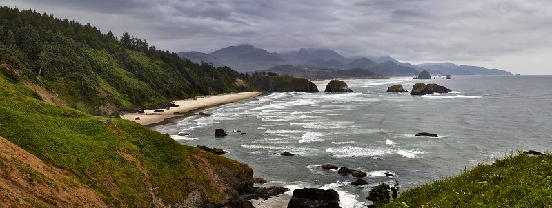 Ecola Point, Ocean, Oregon, Pacific Coast Ecola Pointphoto preview