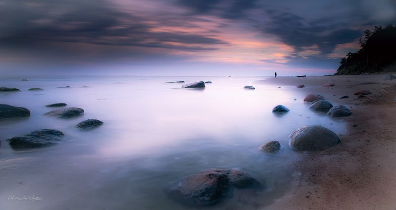 Baltic sea, Evening, Klaipeda, Landscape, Long exposure, Sea Klaipedaphoto preview