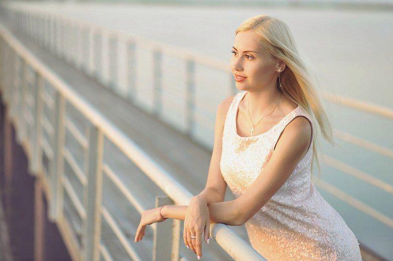 Портрет, Море, женский портрет Летнее настроениеphoto preview
