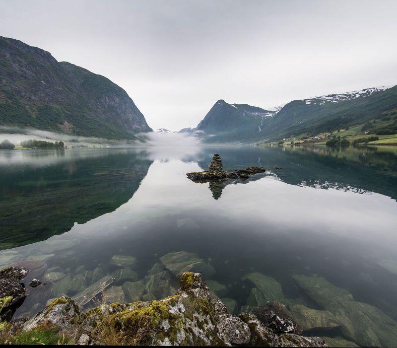 Норвегия, Ёльстер, озеро, Norway, Jolstervatnet Jolstervatnetphoto preview