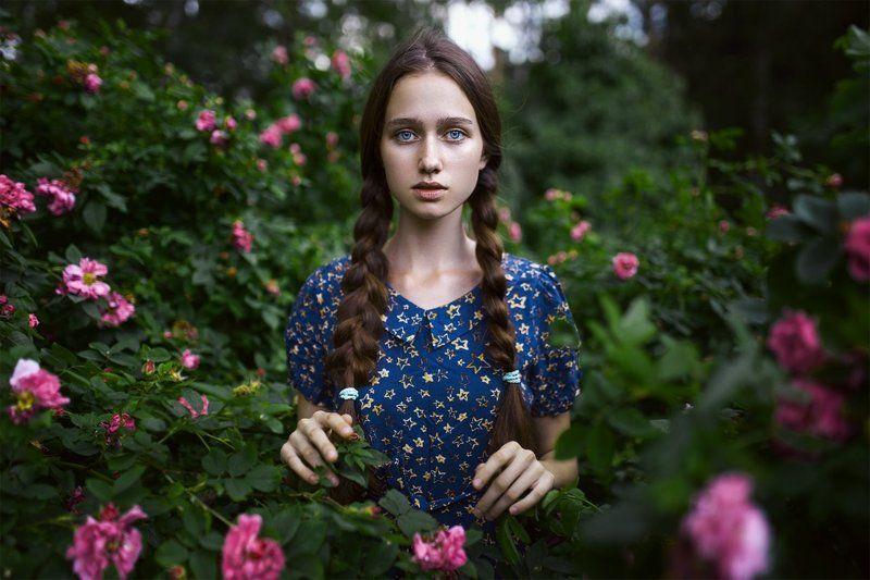 girl, roses, sony alpha, 35mm, summer, sigma, девушка, портрет, лето, цветы Vphoto preview