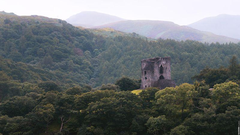 Замок Dolbadarn. Север Уэльса.photo preview