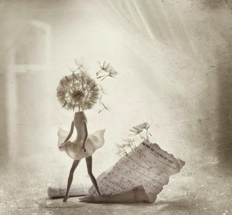 ассоциации, мэрилин, настроение, натюрморт, одуванчик, ретро, фантазии I wanna be loved by you....photo preview
