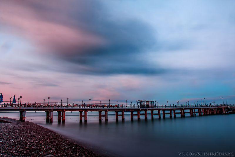 природа, пейзаж, море, рассвет, спокойствие Прохлада морского утраphoto preview