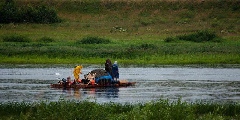 Вода, Волга, Отдых, Отпуск, Река, Рыбаки, Рыбалка, Увлечение Одна, но пламенная страсть..photo preview