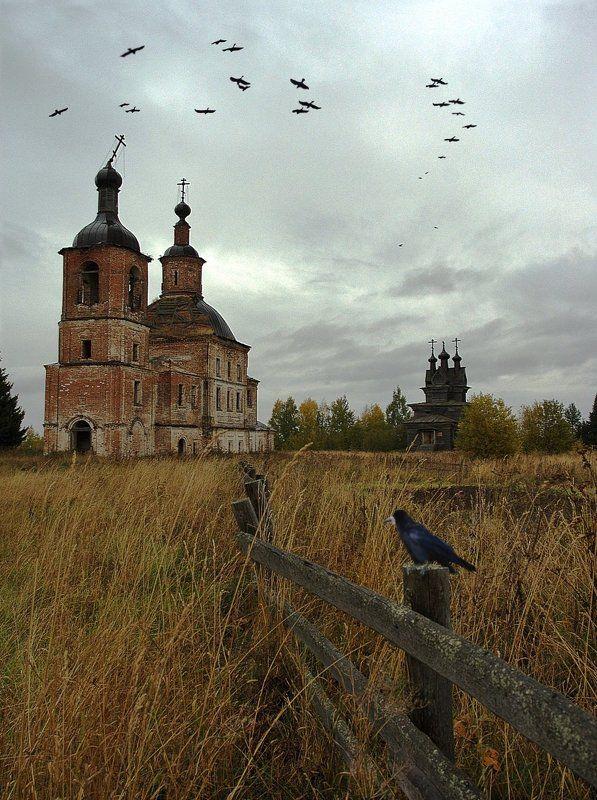 Пермогорье. Церковь Георгия Победоносца. 1665 гphoto preview