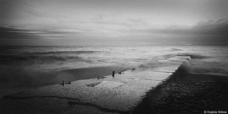сочи, черное море зима в Сочиphoto preview