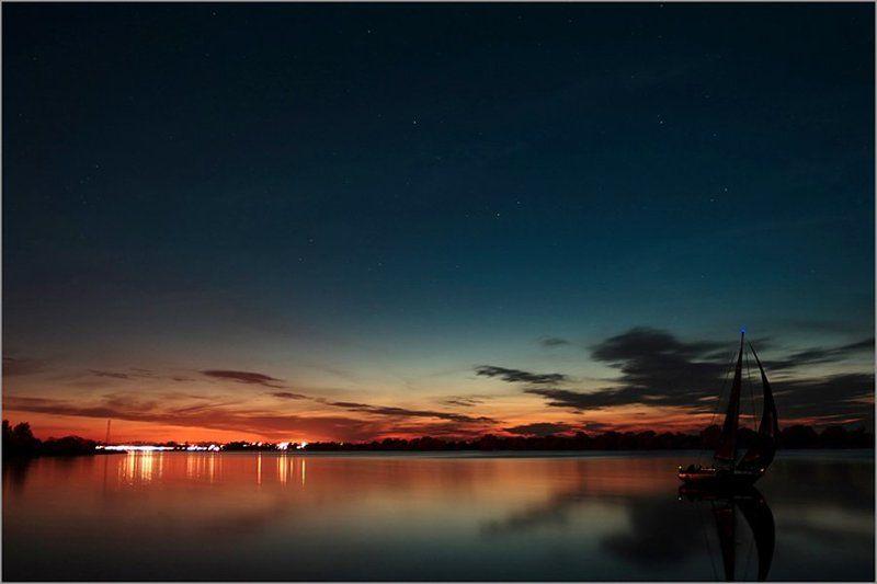 ночь на Волге..photo preview