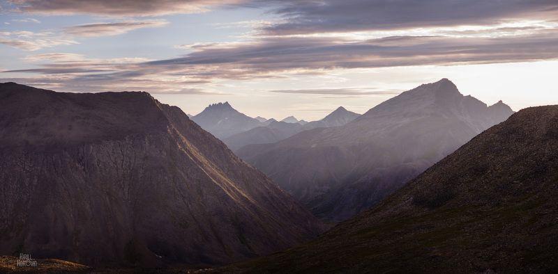 горы, урал, приполярный, приполярный урал, пейзаж, закат, вечер, манарага, север, народная, кар-кар photo preview