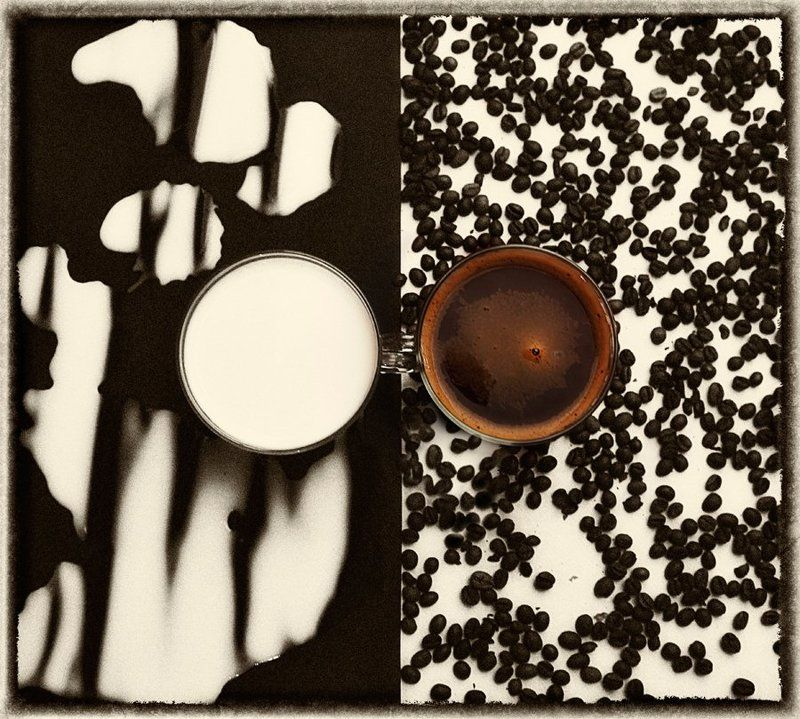 Кофе с молокомphoto preview