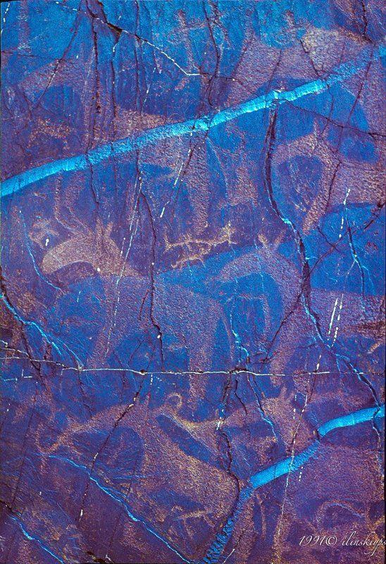Петроглиф пустыни Кызыл-Кум 21 век до н.э.photo preview