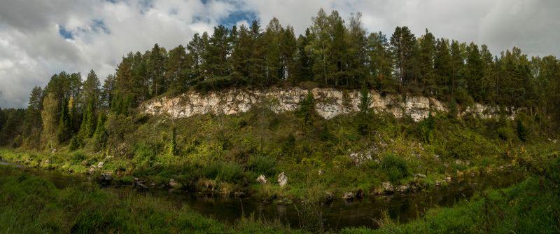 Изгибы воды и камня photo preview