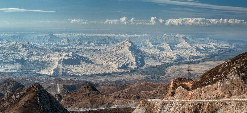 Вид на Китайскую границу, Восточный Казахстанphoto preview