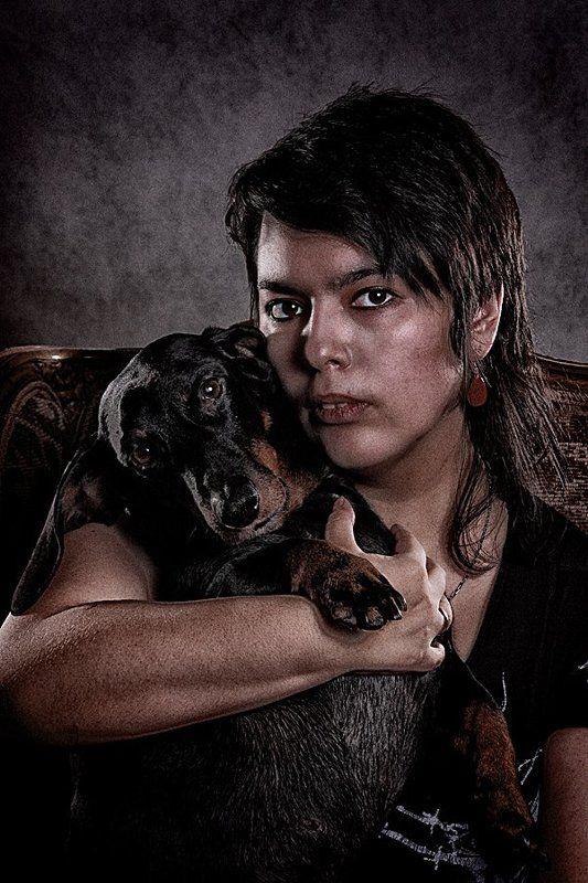 Портрет с Кротомphoto preview