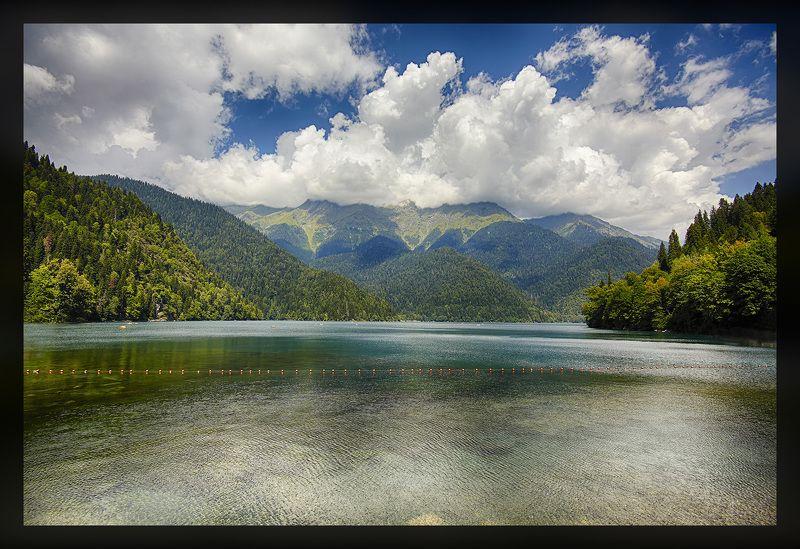 Ritsa Lake Southern Caucasus Ritsa Lake, Southern Caucasusphoto preview