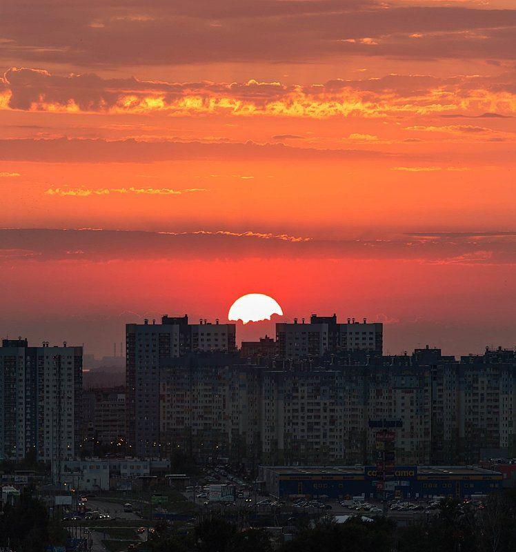закат, нижний новгород, солнце, 7 небо Закатный урбанphoto preview