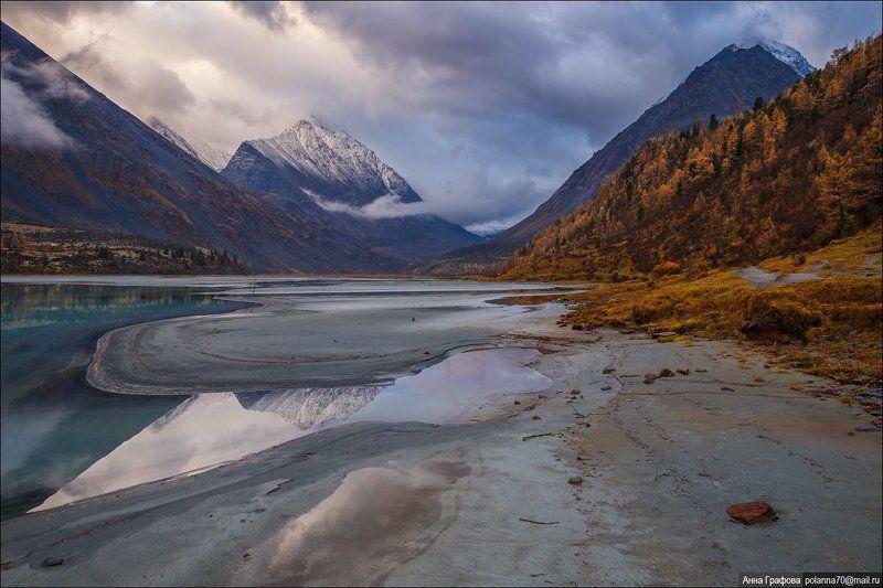 Аккем, Алтай, Аня графова, Горный алтай, Горы, Катунский хребет, Осень Осенний Аккемphoto preview