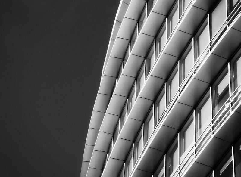 здание, чб, минимализ, город, архитектура, офис Ячейкиphoto preview