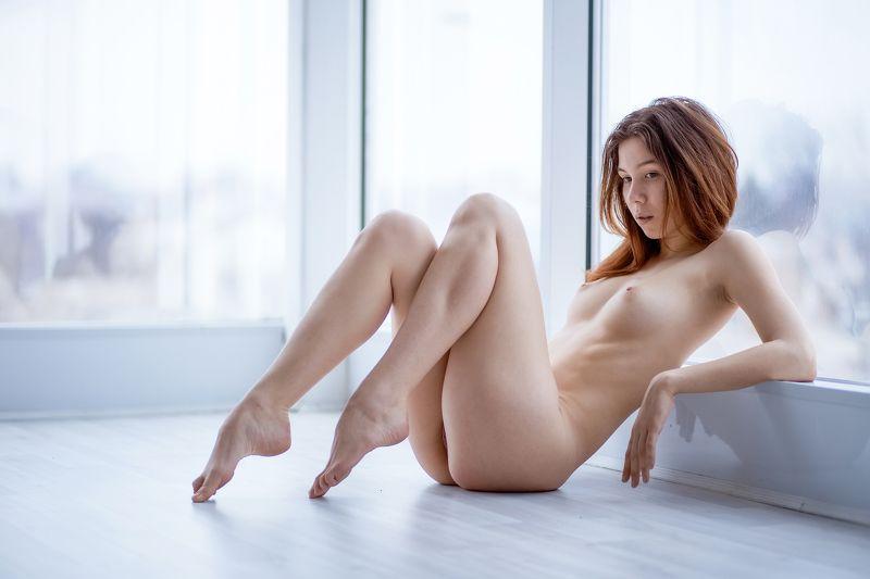 girl, nude, sexy, woman, morning, window, light, beautiful, cute Morningphoto preview