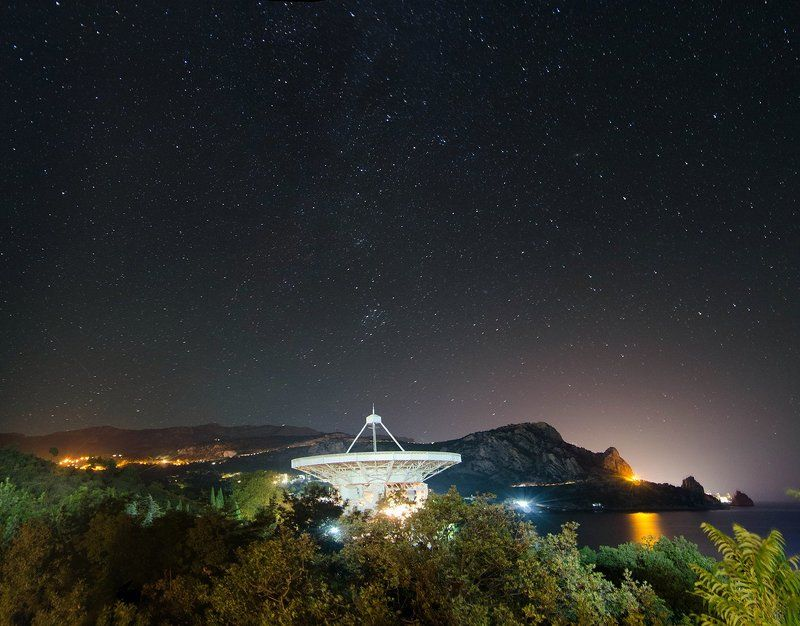 крым, ночь, кацивели Звезды Кацивелиphoto preview