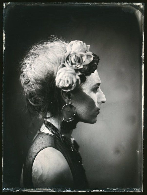 ambrotype Circus Doll Lolliphoto preview