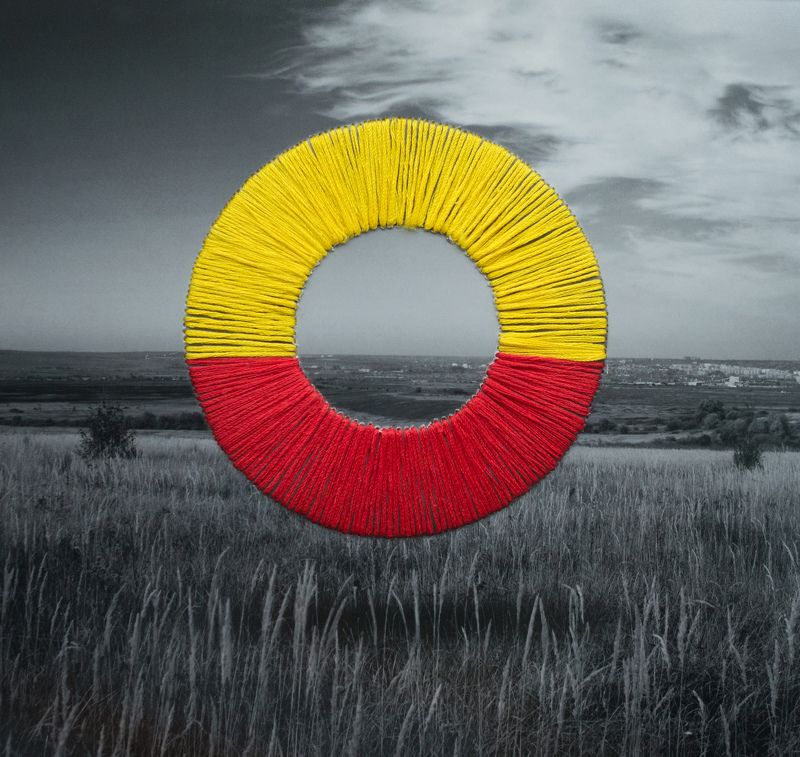 вышивка, круг Кругphoto preview