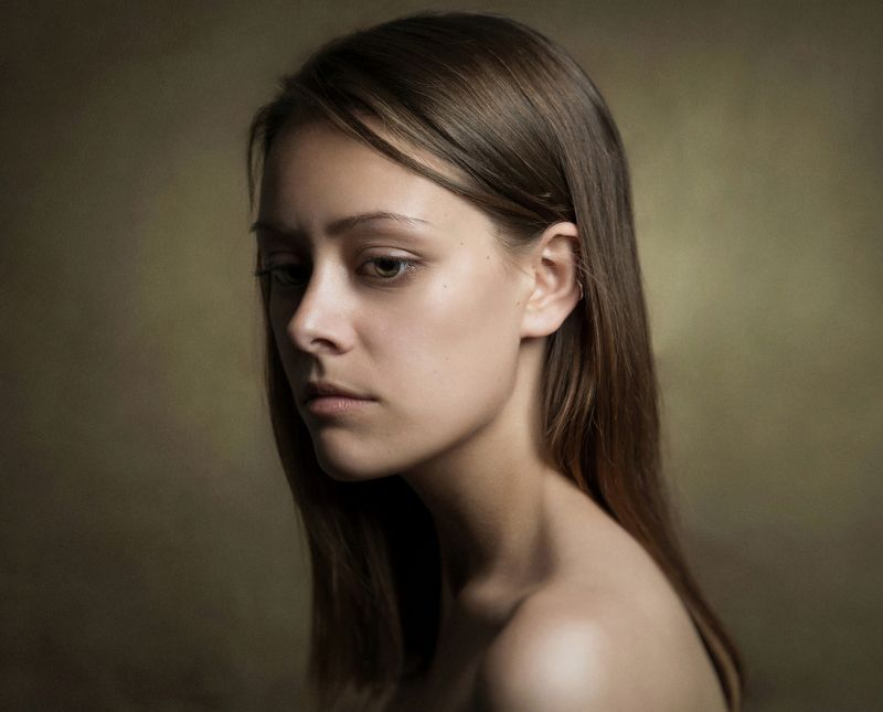 #classical #color #girl #painterly #жанровый #портрет Classical portrait портрет ***photo preview