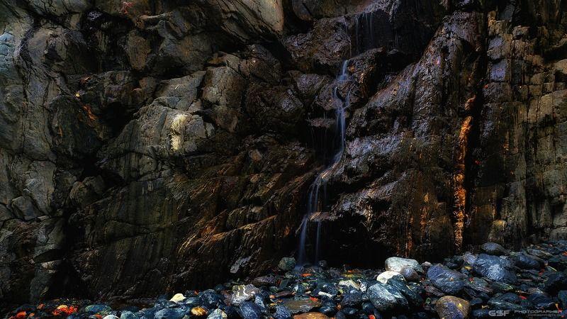 горы скалы каньон камни водопад Про водопадик 2photo preview