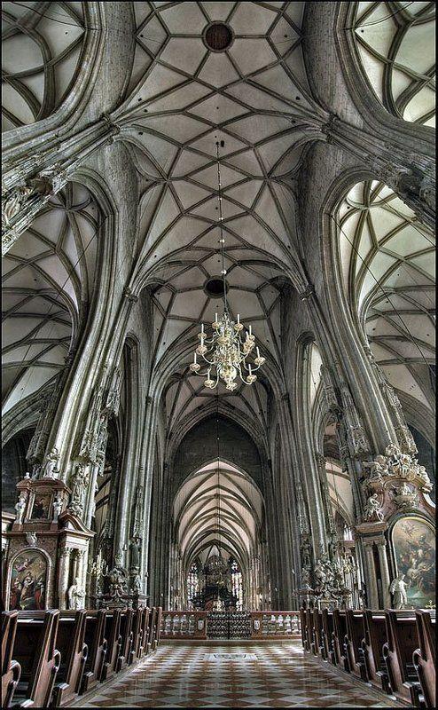 австрия, вена, собор св. стефана ***photo preview