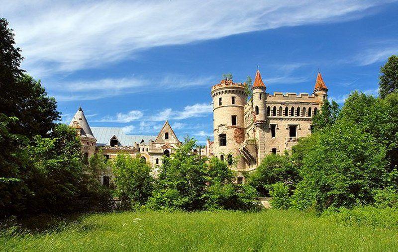 муромцево, владмирская обл., замок, усадьба уходящее прошлоеphoto preview