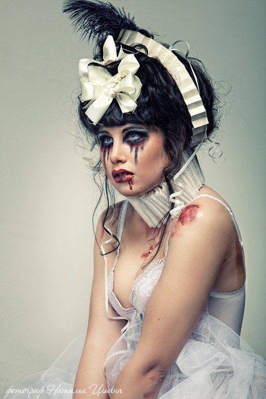невеста, кровь, нож Невестаphoto preview