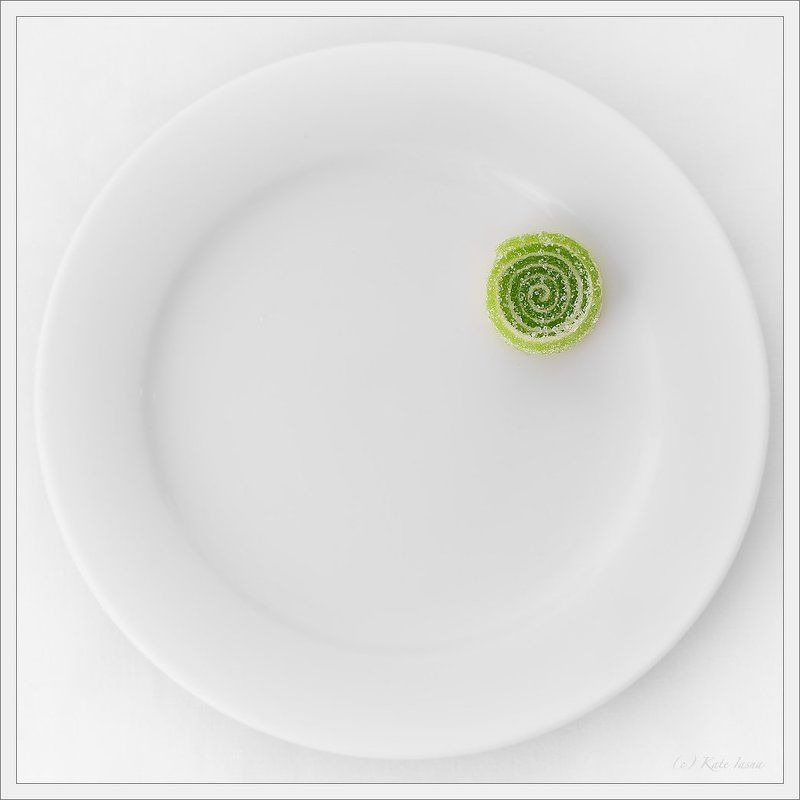 marmelade, green, plate, sweet, candy Dainty Piecephoto preview