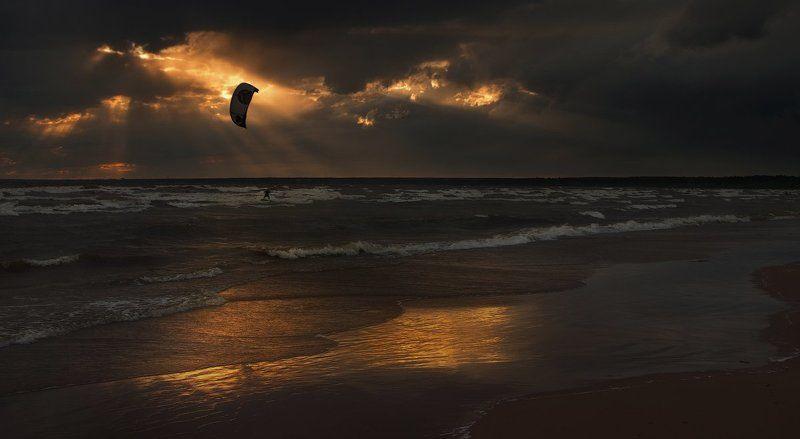Янтарные краски балтийских закатовphoto preview