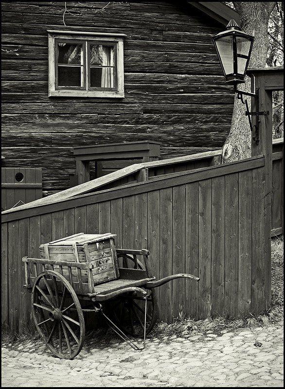 швеция, стокгольм, скансен Стокгольм. Зарисовка из позапрошлого века.photo preview