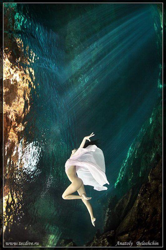 mexica, underwater, photo, cave, chak, mool, anatoly, beloshchin, nude, &, fashion, seacam, canon, 5d, mark, ii По ту сторону зеркала (подводное фото)photo preview