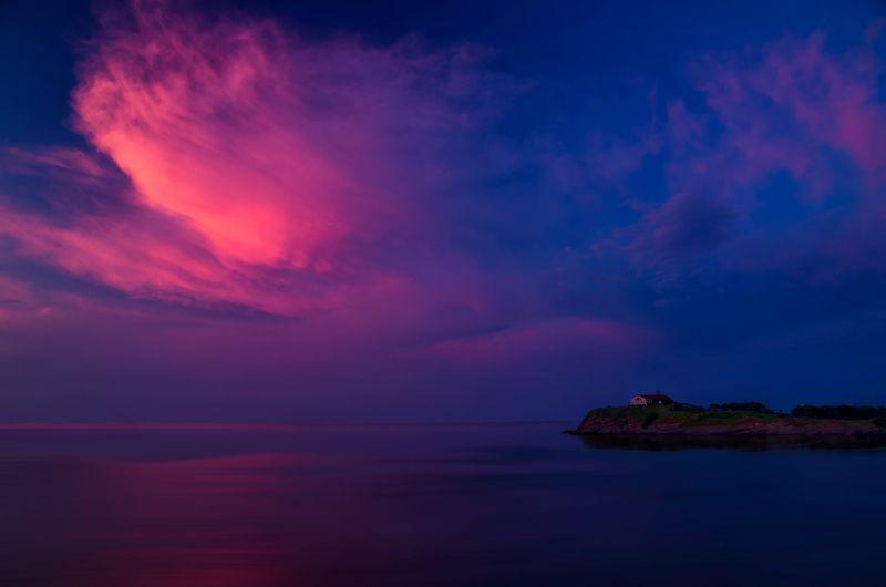sunrise, cloud, church, prayer, sea July\'s  Prayerphoto preview