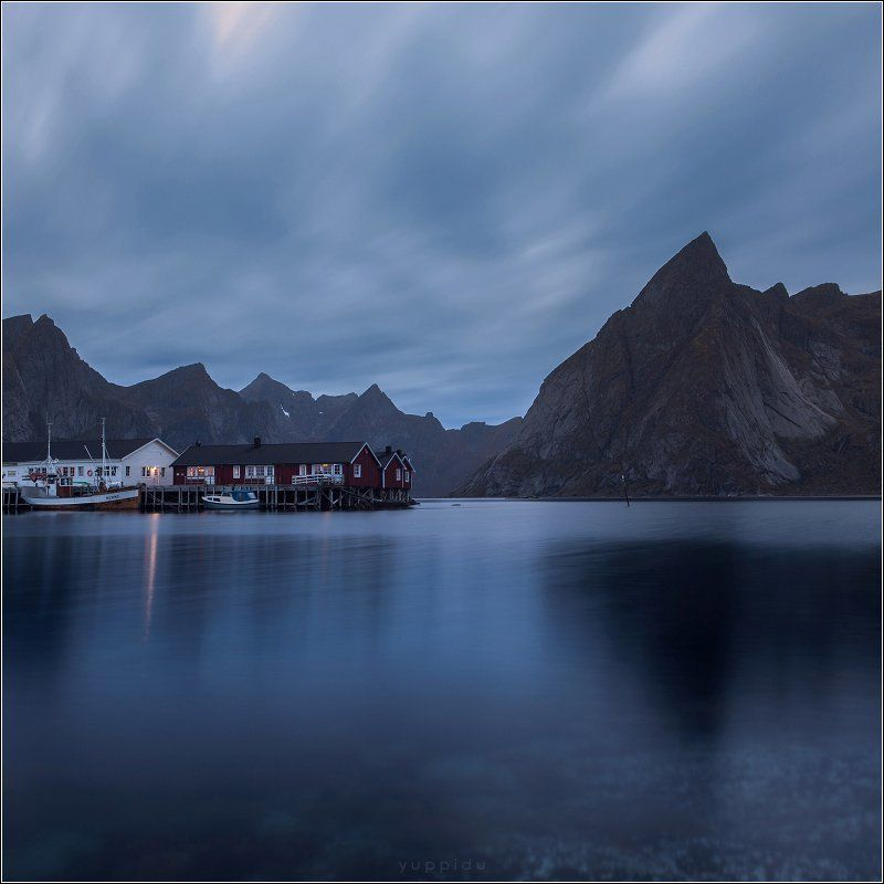 hamnoy, norway * * *photo preview