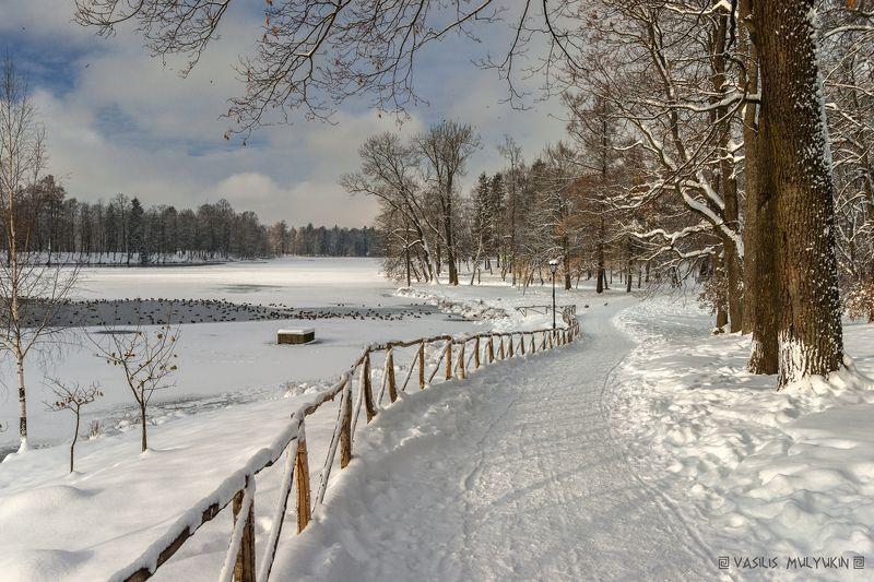 В Гатчинском паркеphoto preview