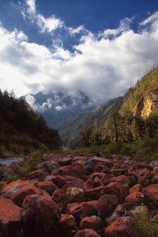 гималаи, непал Гималаи. Дорога к Манаслуphoto preview