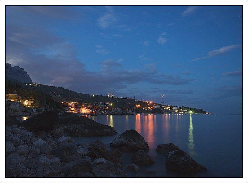 крым, алупка, море, Майский вечер на окраине Алупкиphoto preview