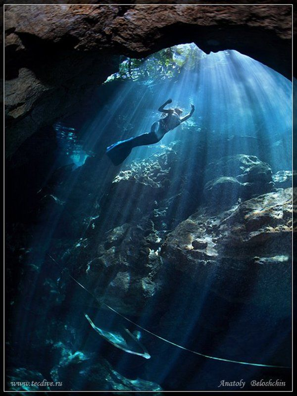 mexico, underwater, photo, cave, chak, mool, anatoly, beloshchin, nude, &, fashion, seacam, canon, 5d, mark, ii Тне Mermaid (Русалка. Подводное фото)photo preview