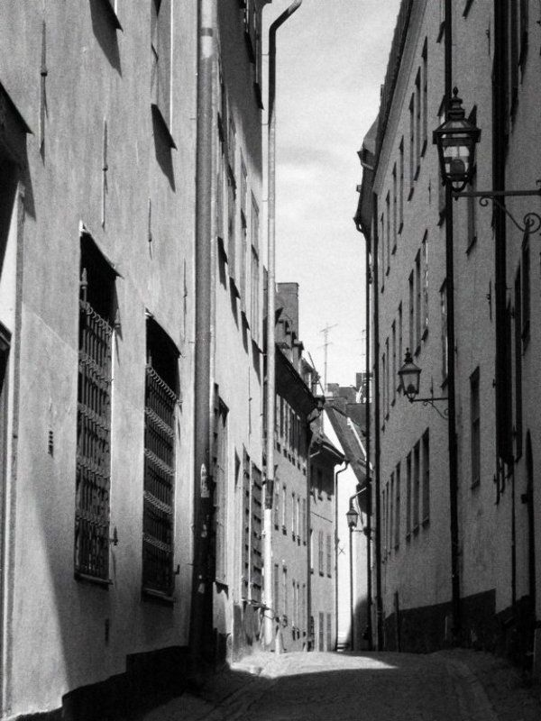 стокгольм, утро, май утро в Старом городеphoto preview