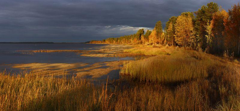 озеро, осень, Арантурphoto preview