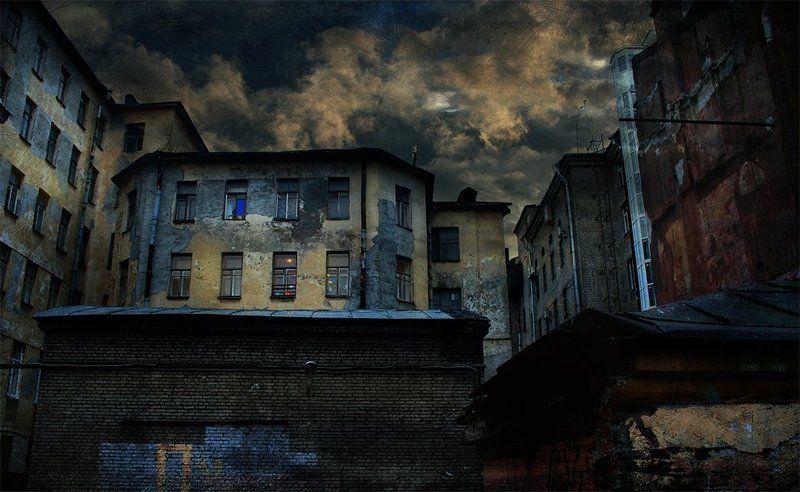 город Смешивая стены...photo preview