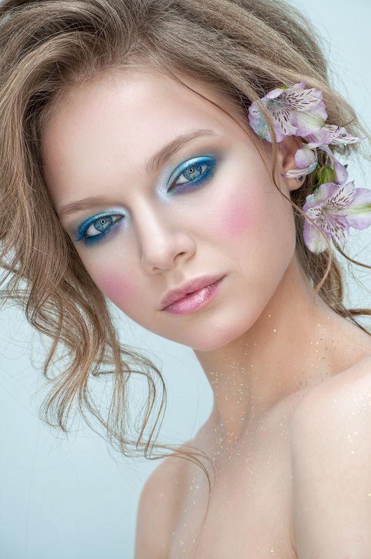 девушка, зима, портрет, макияж Девушка - Зимаphoto preview