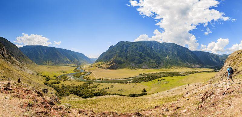 Долина реки Чулышман. Алтайphoto preview
