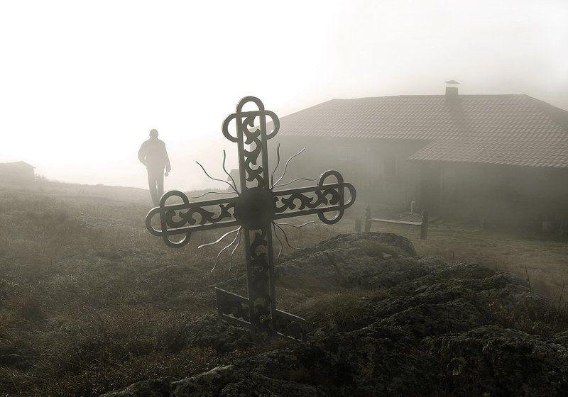 метеостанция, природа, пейзаж, крест, другое фото Метеостанцияphoto preview